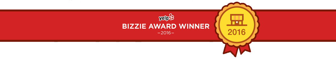 yelp bizzie award recipient